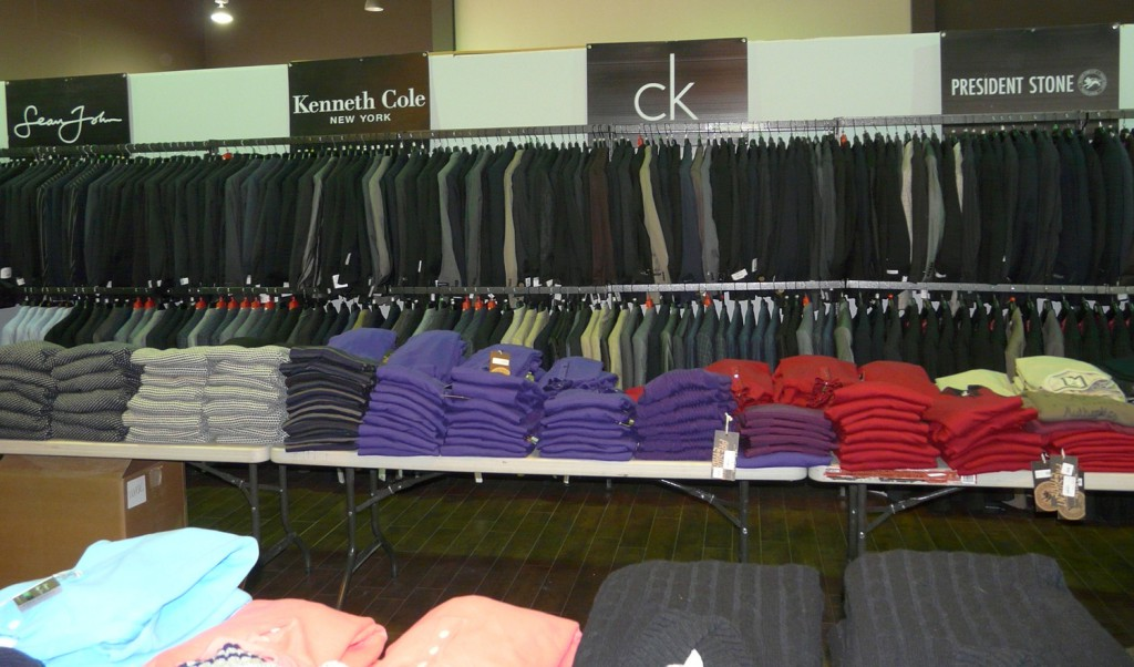 Jackets, sweaters and shirts for men - CK, President Stone, Kenneth Cole, DKNY, etc.
