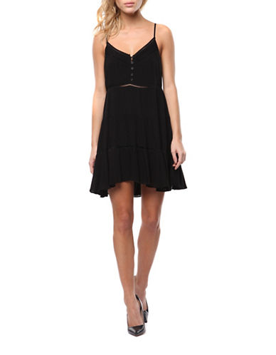 DEX Ladder Trim Slip Dress on sale at $38.35 (reg. $59)