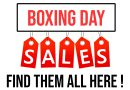 Boxing Day Sales : The best deals of 2018