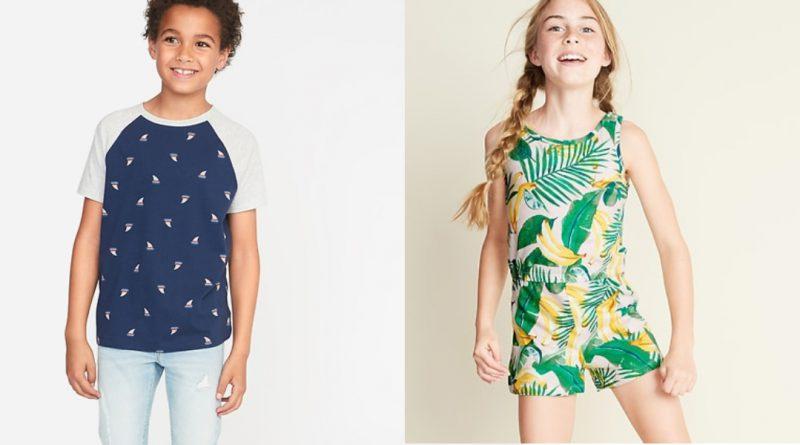 Shop kids summer clothing on sale