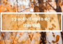 13 activities to do this fall