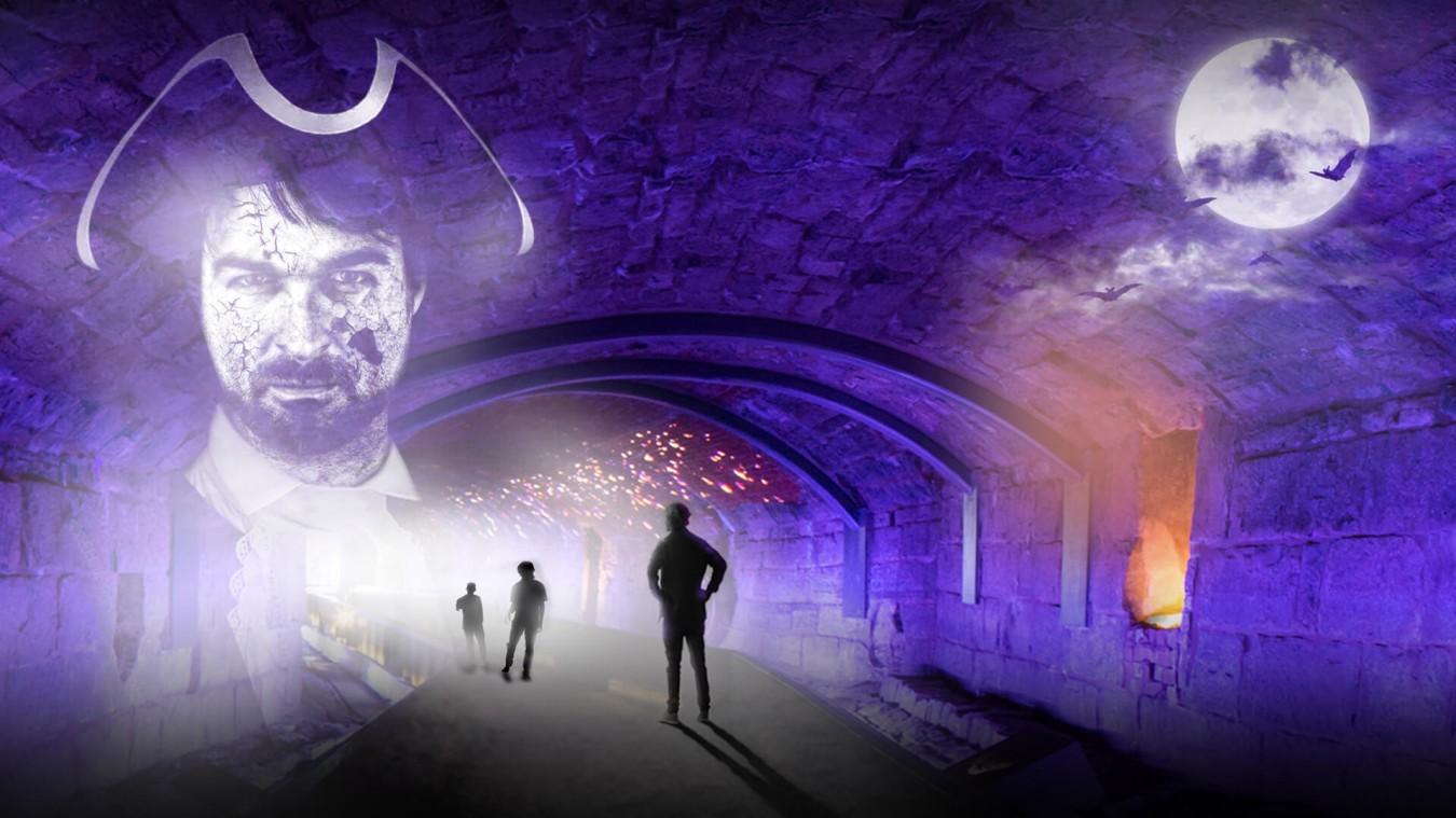 tunnels hantés