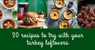 20 recipes to try with your turkey leftovers